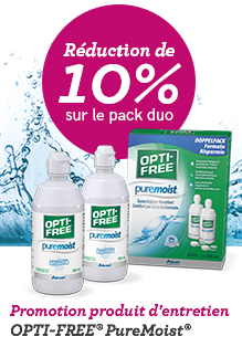 OptiFree PureMoist ALCON 2 x 300ml (EverMoist)