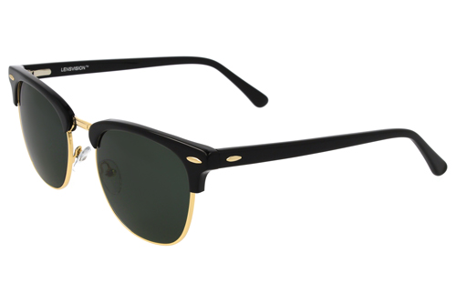 product image LENSVISION - #SurfingHawaii - Schwarz/Gold