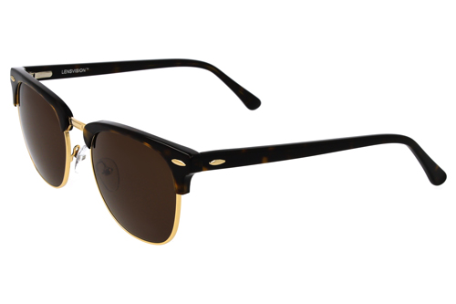 product image LENSVISION - #SurfingHawaii - Havanna/Gold