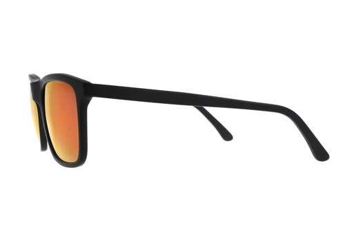 product image LENSVISION - #FreshZurich SUN - Matt Schwarz/Rot