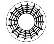 Crazy Lenses SPIDER Kontaktlinsen - 2 Linsen