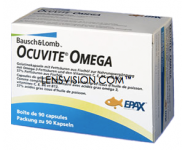Ocuvite Omega 90 Kapseln (Nahrungsergänzung)