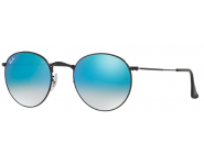 Ray-Ban ROUND METAL 50-21 RB3447 002/40