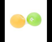 Kontaktlinsenbehälter Softgrip Gelb/Grün 9283