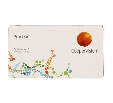 Proclear Spheric - 6 Monthly Lenses