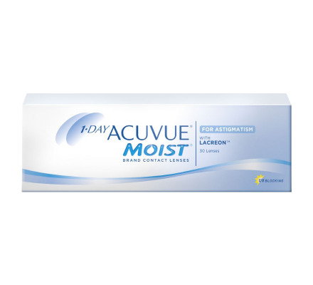1-Day Acuvue Moist for Astigmatism - 30 Tageslinsen
