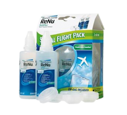 ReNu MultiPlus Flight Pack 2x60ml BAUSCH+LOMB