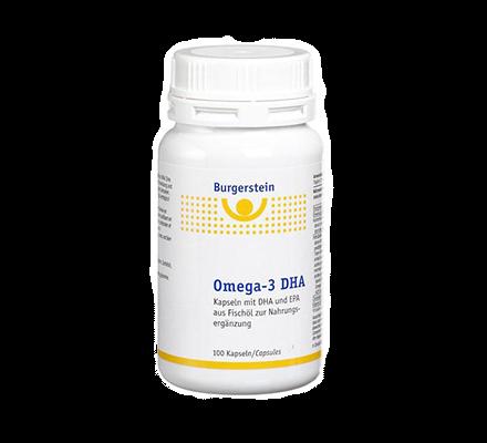 Burgerstein Omega-3 DHA Fettsäuren 100 Kapseln