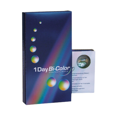 1Day Bi-Color - 8 Kontaktlinsen BI-COLOR FARBLINSEN