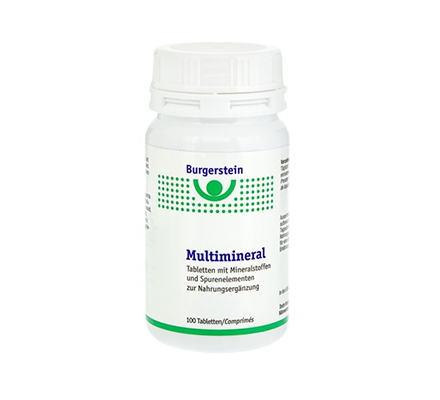 Burgerstein Multimineral 100 Tabletten