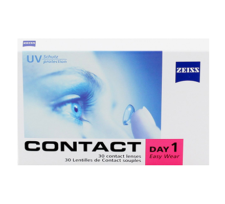 ZEISS Contact Day 1 Easy Wear - 30 Tageslinsen