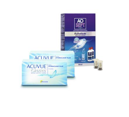 Sparset: Acuvue Oasys - 3 und AO Sept Plus HydraGlyde
