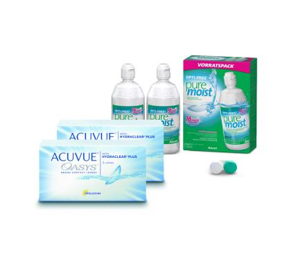 Sparset: Acuvue Oasys - 3 und OptiFree PureMoist ALCON