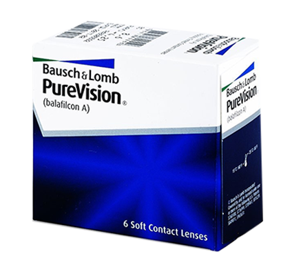 Pure Vision - 6 Monthly Lenses