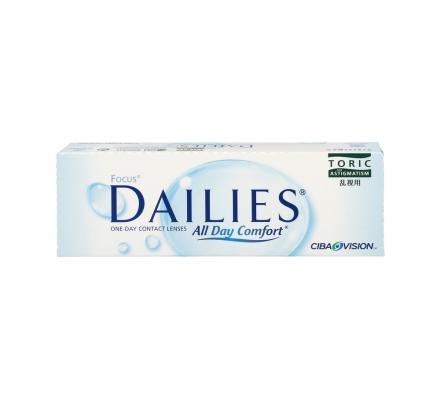 Focus Dailies Toric - 30 Tageslinsen