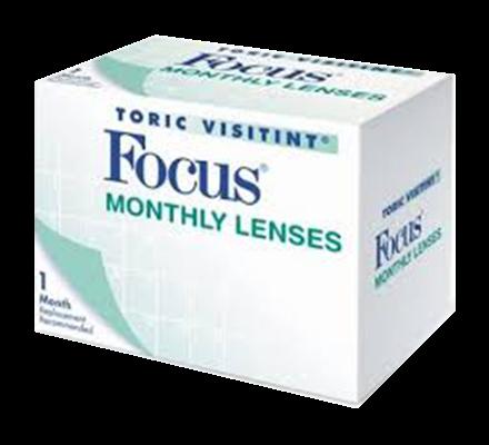 Focus Monthly Toric - 6 Monatslinsen