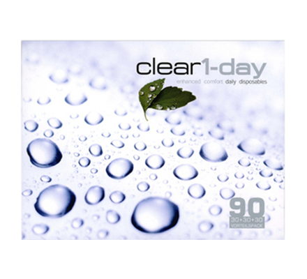 clear1-day - 90 Tageslinsen