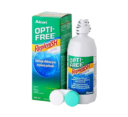 OptiFree RepleniSH ALCON 300ml &  Behälter