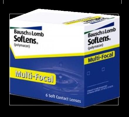 SofLens Multifocal - 6 Monatslinsen