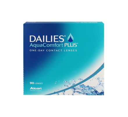 Dailies AquaComfort Plus - 90 Tageslinsen
