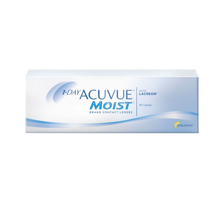 1-DAY Acuvue Moist - 30 lenti giornaliere