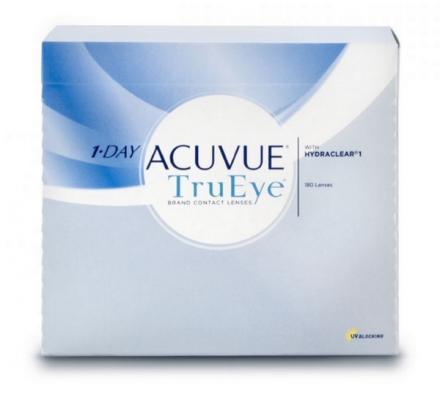 1-Day Acuvue TruEye - 180 Tageslinsen