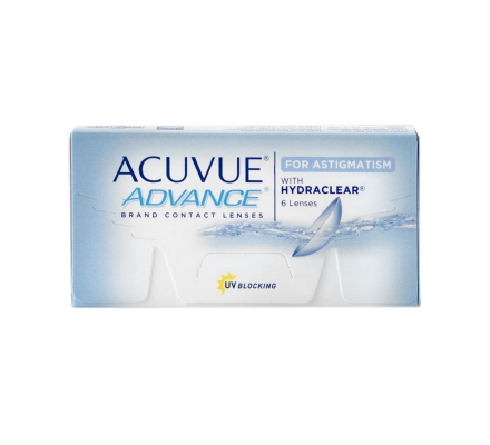 Acuvue Advance for Astigmatism <span>6 Kontaktlinsen</span>