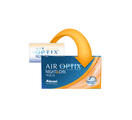 Air Optix AQUA Night & Day - 6 Monatslinsen