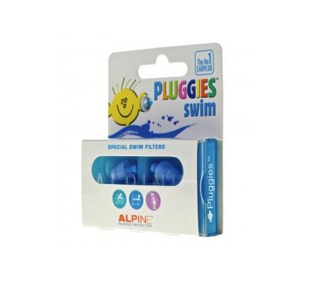 Alpine Pluggies Swim® Gehörschutzstöpsel Kinder 1 Paar