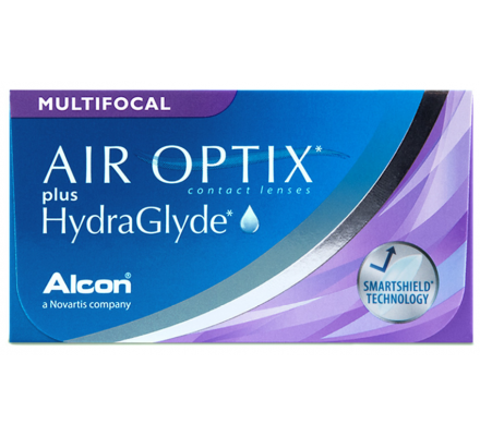 Air Optix Plus HydraGlyde Multifocal - 6 Monatslinsen