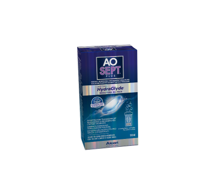 AO Sept Plus HydraGlyde Flight-Pack - 90ml & Behälter