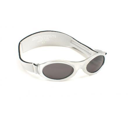 KidBanz Silver Metallic (2-5 Jahre) Babysonnenbrillen von Baby Banz