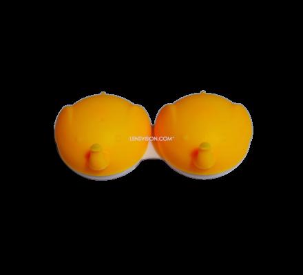 Kontaktlinsenbehälter Gelb - 1x