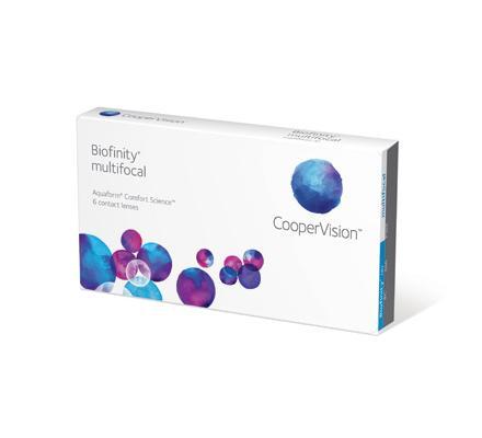 Biofinity Multifocal - 6 Monatslinsen