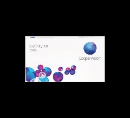 Biofinity Toric XR - 6 Monatslinsen