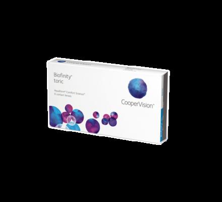 Biofinity Toric <span>6 Monatslinsen</span>