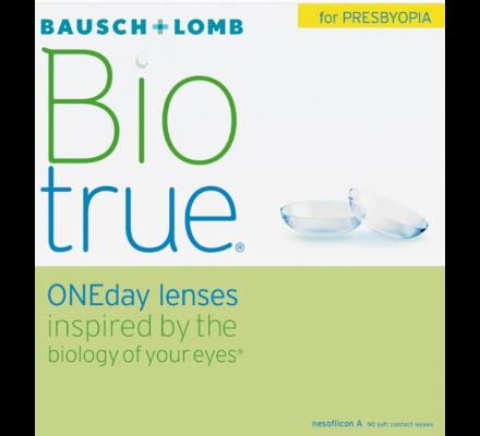 Biotrue ONEday for Presbyopia - 90 Tageslinsen