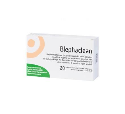 Blephaclean 20 Sterile Kompressen