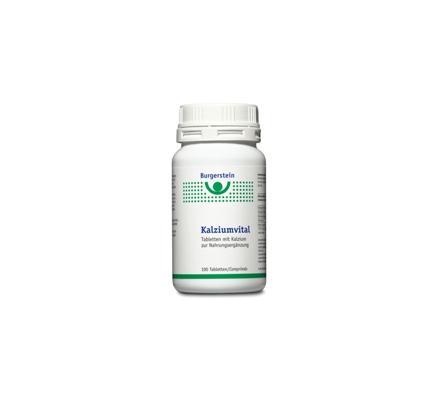 Burgerstein Kalziumvital 100 Tabletten