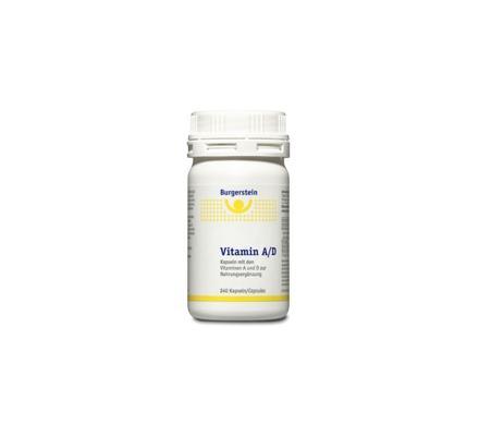 Burgerstein Vitamin A/D 240 Kapseln
