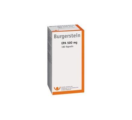 Burgerstein EPA Fischöl-Konzentrat 180 Kapseln