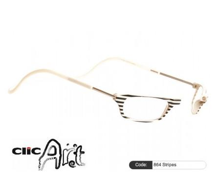 Clic Magnet Lesebrille Art 846 Stripes