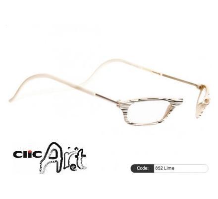 Clic Magnet Lesebrille Art 852 Lime