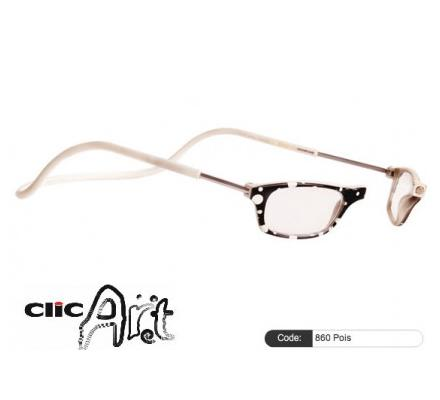 Clic Magnet Lesebrille Art 860 Pois