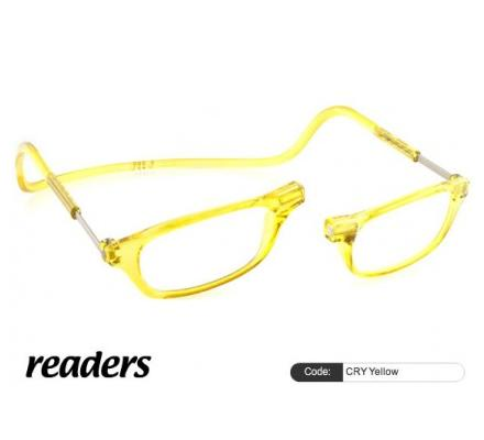 Clic Magnet Lesebrille Classic CRY Yellow