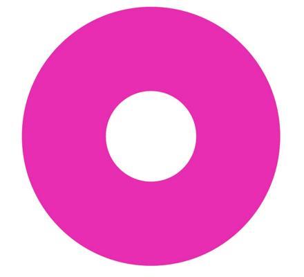 Crazy Lenses pink fluo Kontaktlinsen - 2 Linsen