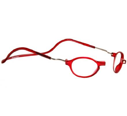 Clic Magnet Lesebrille Zero CRRR Red
