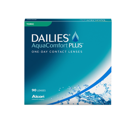 Dailies AquaComfort Plus Toric - 90 Lenti giornaliere