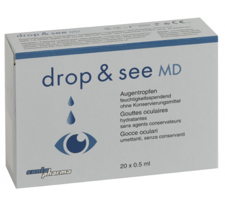 CONTOPHARMA Benetzung drop & see MD 20 x 0.5 ml
