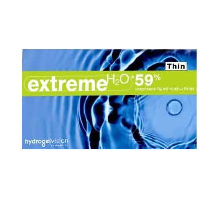 Extreme H2O 59% Thin - 6 Monatslinsen